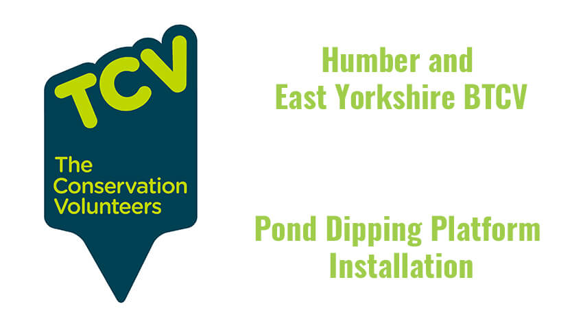 BTCV Pond Dipping Platform Installation Post Image