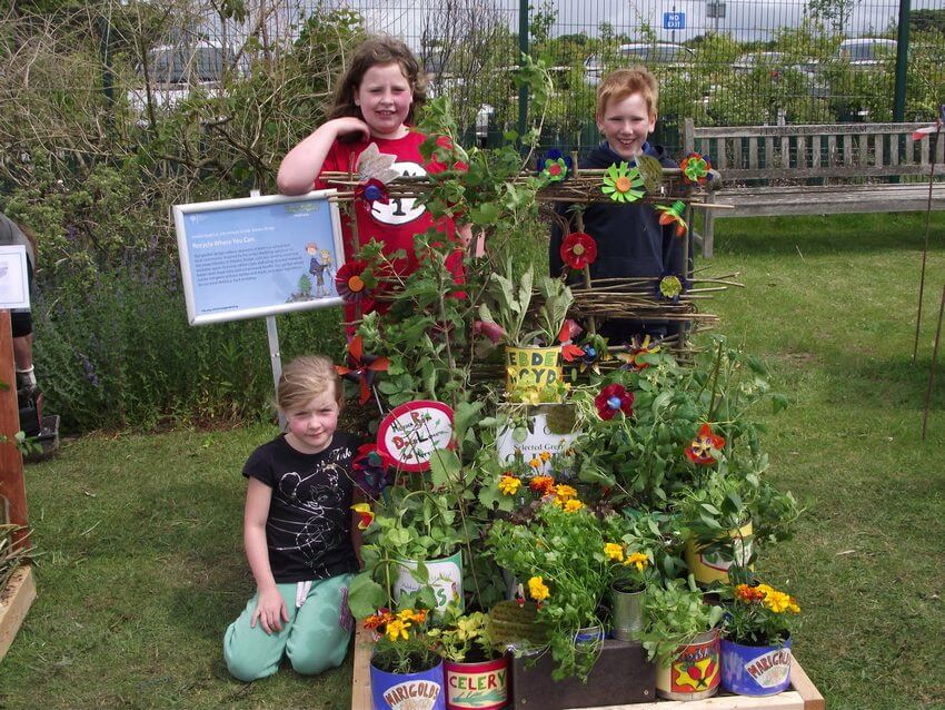 Hebden Royd-School Planters-Budding Gardeners Competition Kids