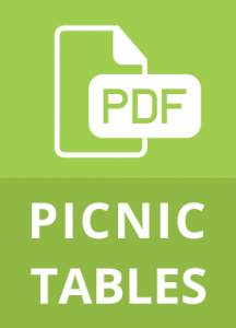 Recycled Picnic Tables