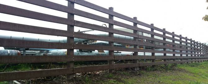 Using Recycled Plastic Lumber as Fencing