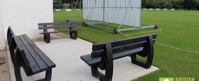 Harewood Benches Knock Cricket Clubs For Six