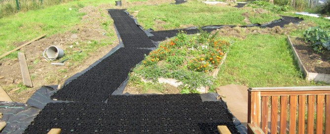 Long Eaton Community Garden using Hebden Grids