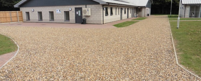 Permeable Pathways for Kennels and Vets in Ipswich