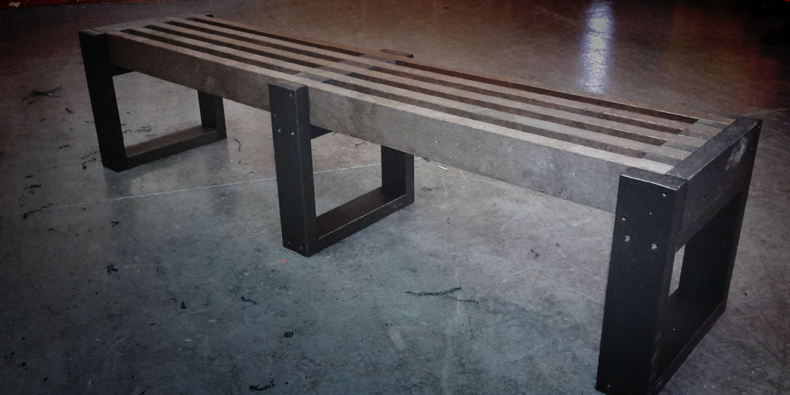 Skipton Recycled Plastic Bench New Design