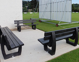 Recycled Plastic Seats and Benches