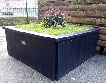 Recycled Plastic Planters