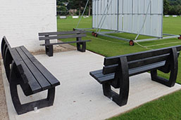 Recycled Plastic Benches and Seats