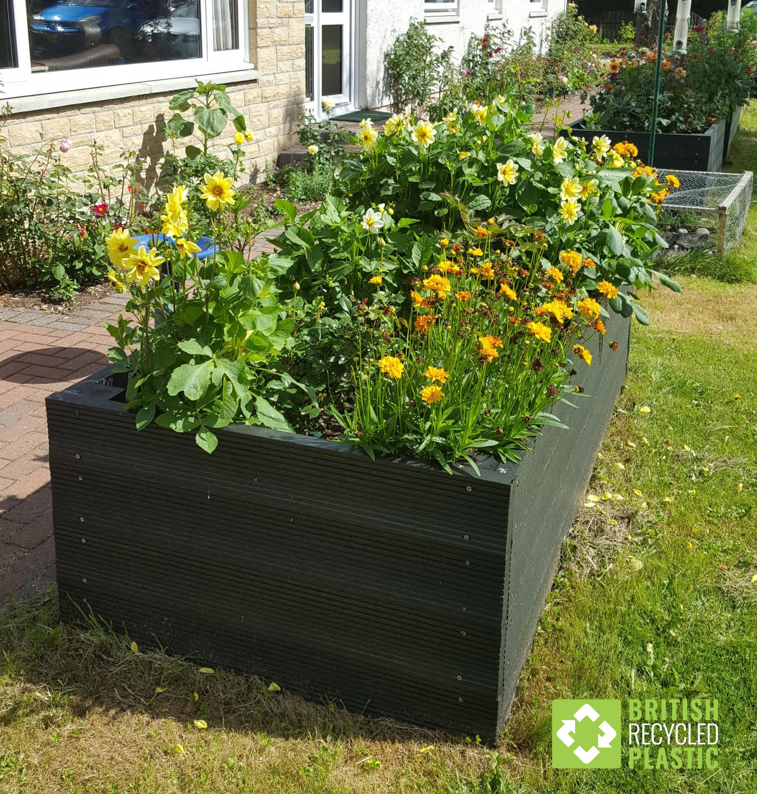 A Happy Raised Beds Customer - British Recycled Plastic