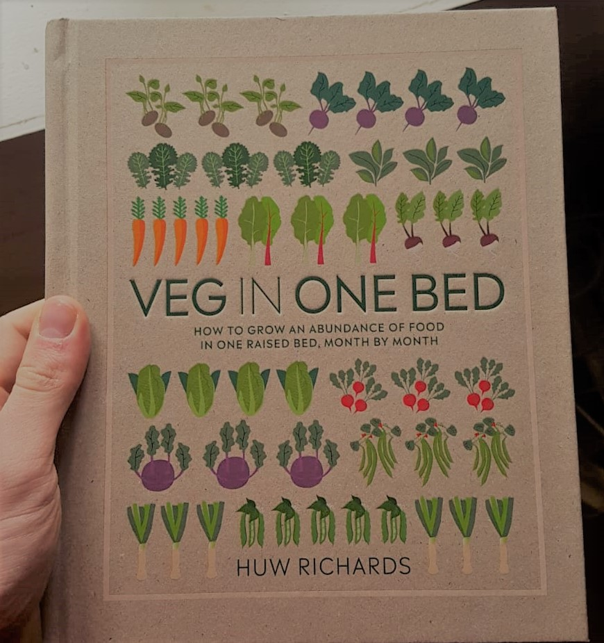 Huw Richards' new book Veg in One Bed