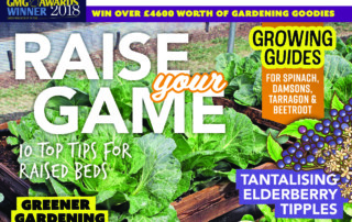 The cover of September 2019's issue of Kitchen Garden magazine