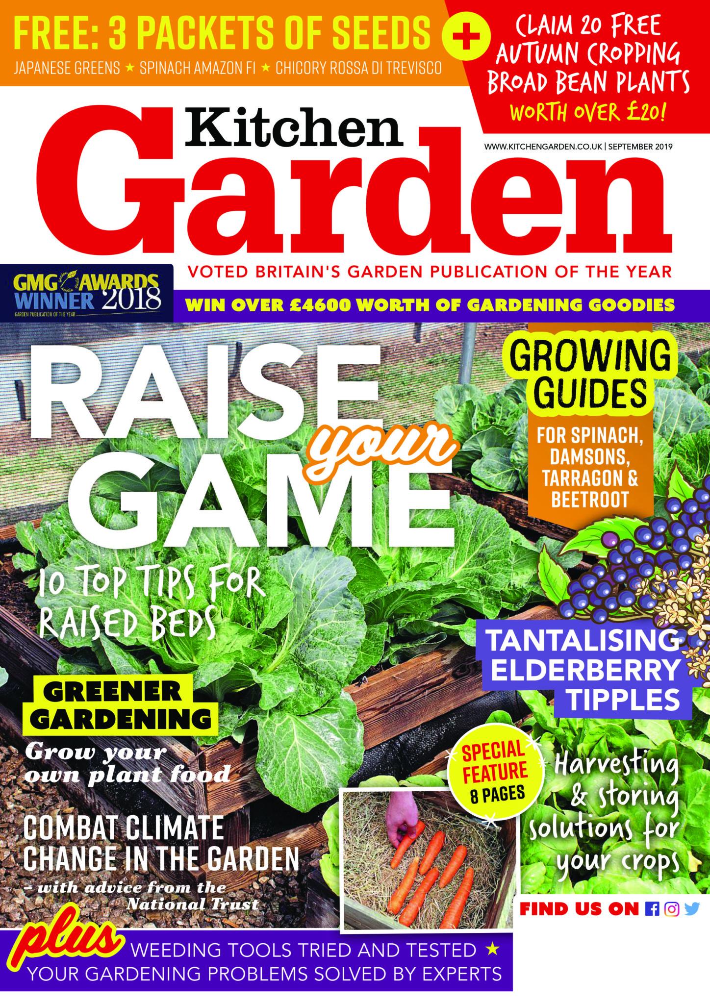 Featured In Kitchen Garden Magazine British Recycled Plastic