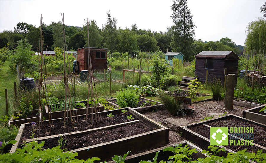 The allotments at Redacre are in high demand
