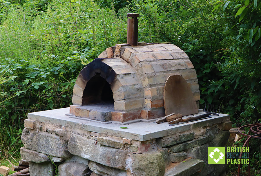 The Redacre pizza oven sees a lot of action!