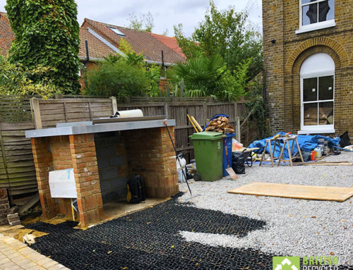 Permeable paving in Peckham – not just for lawns