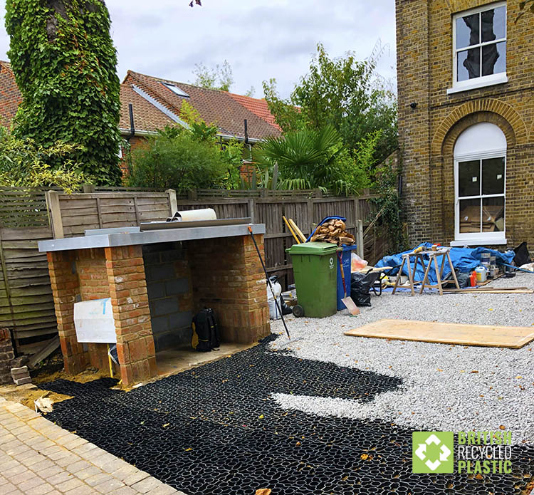 Hebden X-Grid driveway almost complete