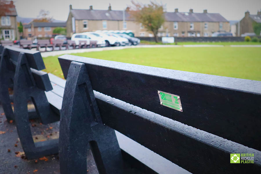 Clitheroe Cricket Club's Denholme bench