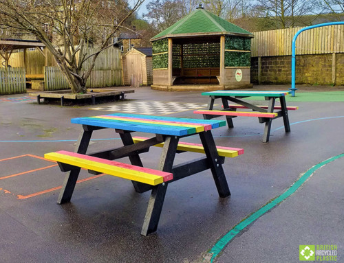 Riverside School choose Recycled Plastic Picnic Tables