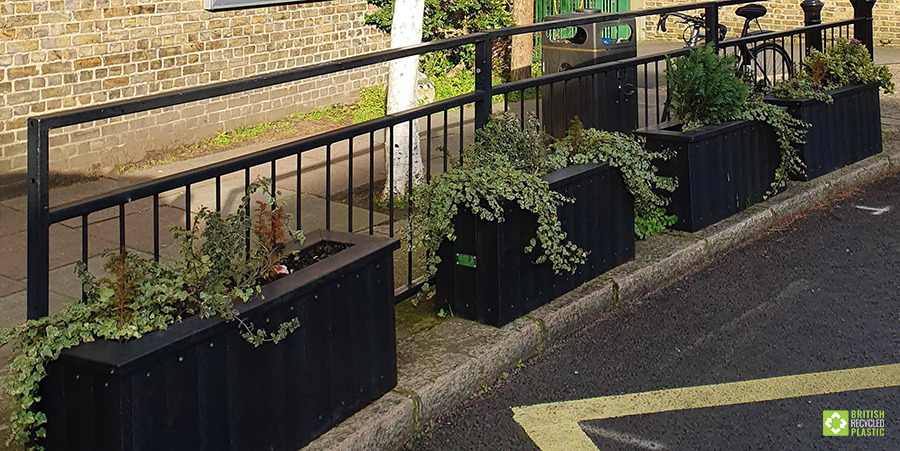 Goose Green's custom-made planters