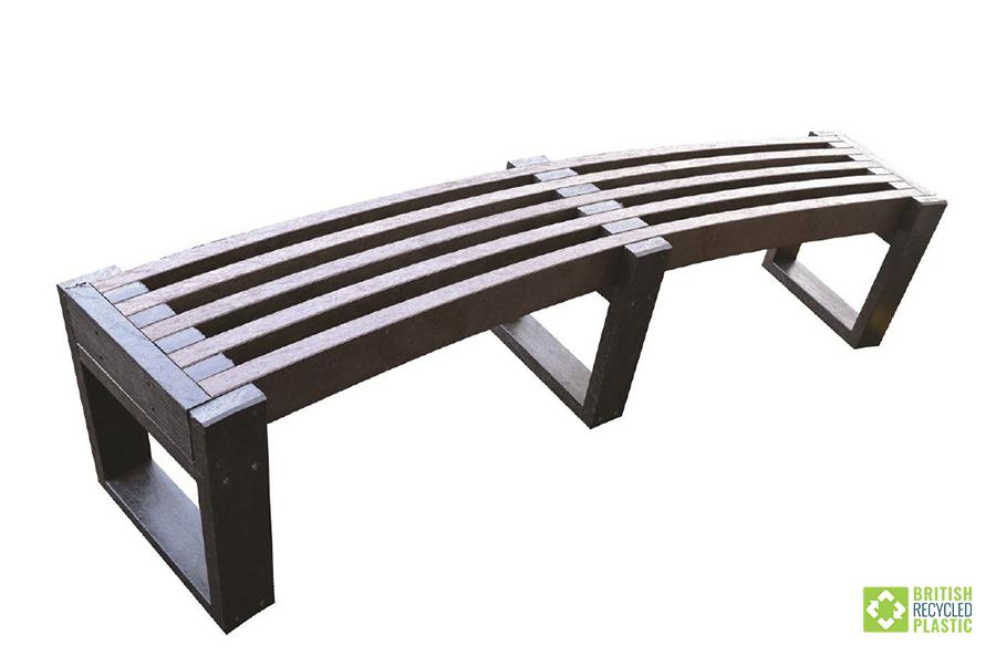 Skipton Curve bench