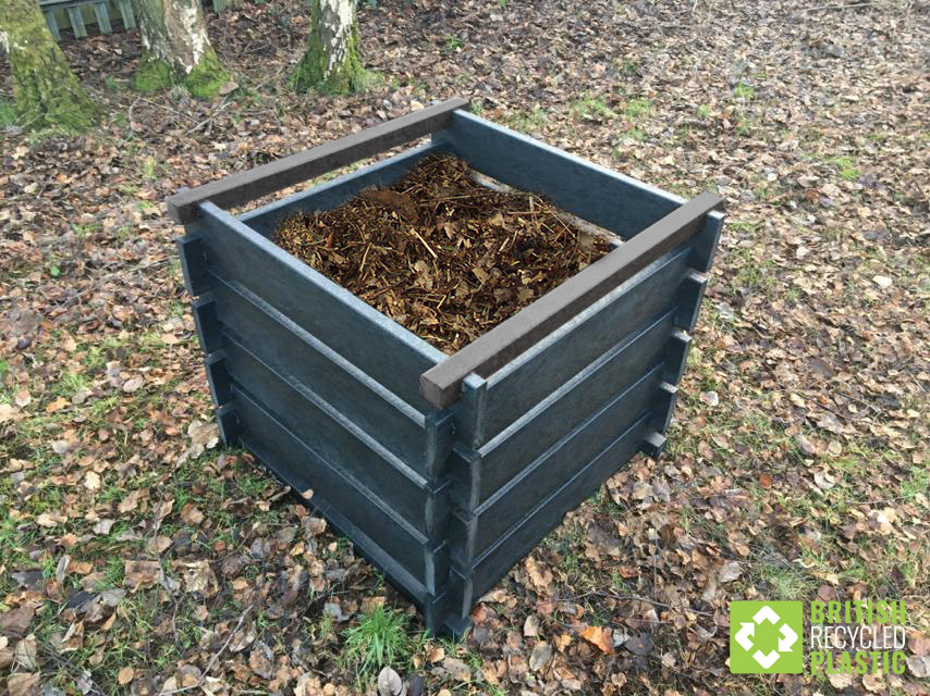 Redacre recycled plastic composter