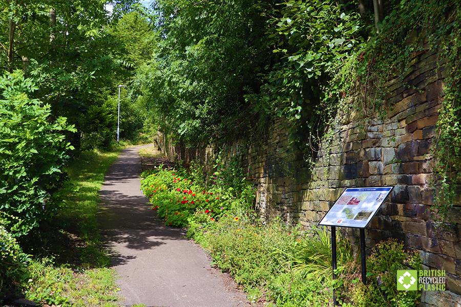 The entrance to Burton Dean