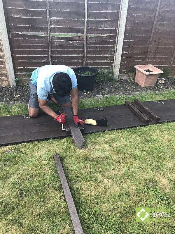 Amritaj begins his build