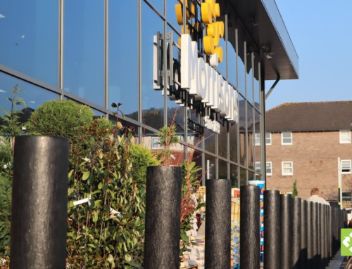 Our recycled plastic bollards