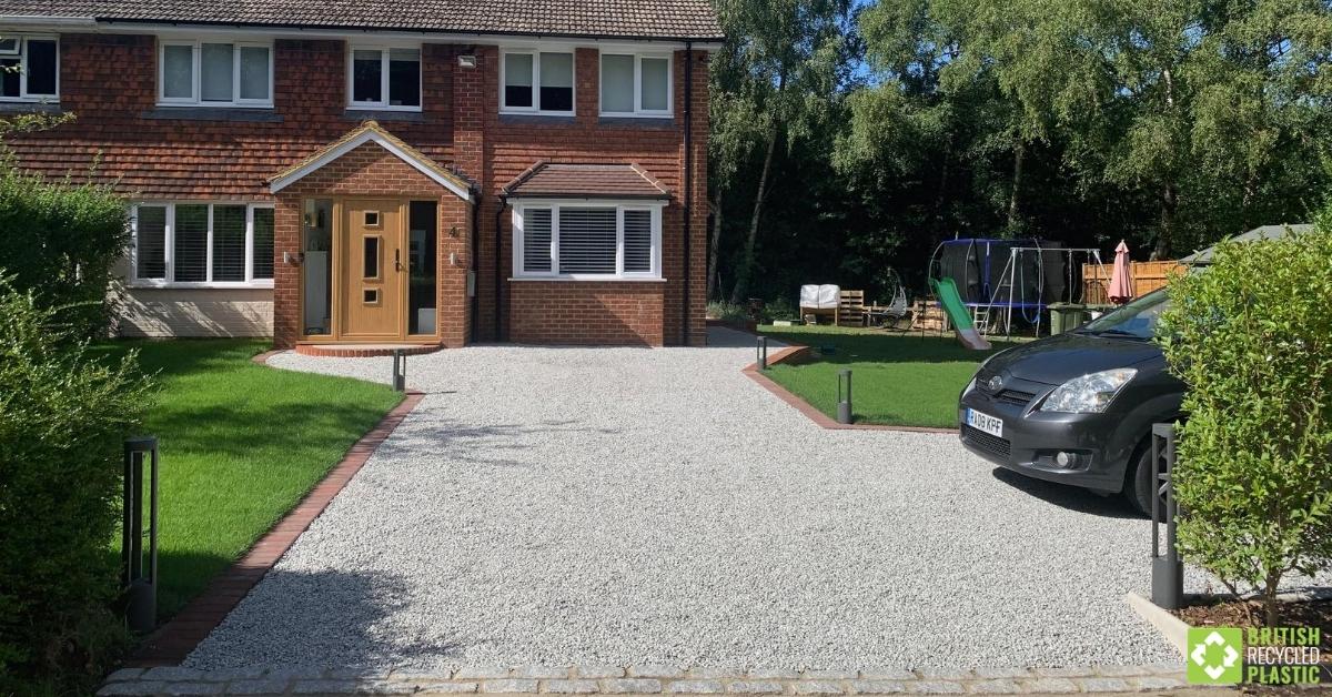Richard's finished driveway