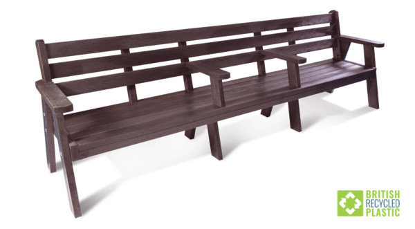 The Ilkley Plus sloper bench is a 3 metre version of the popular standard design