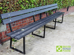 Spen Civic Society refurbished their benches with our recycled lumber planks