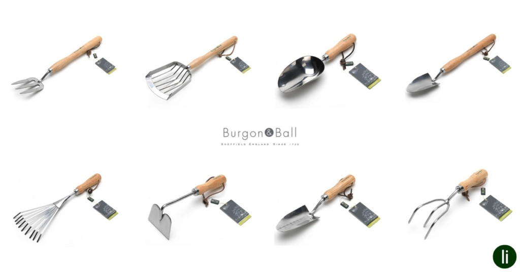 Burgon & Ball, RHS-endorsed range of garden tools