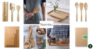 Sustainable bamboo kitchenwares from Bambu