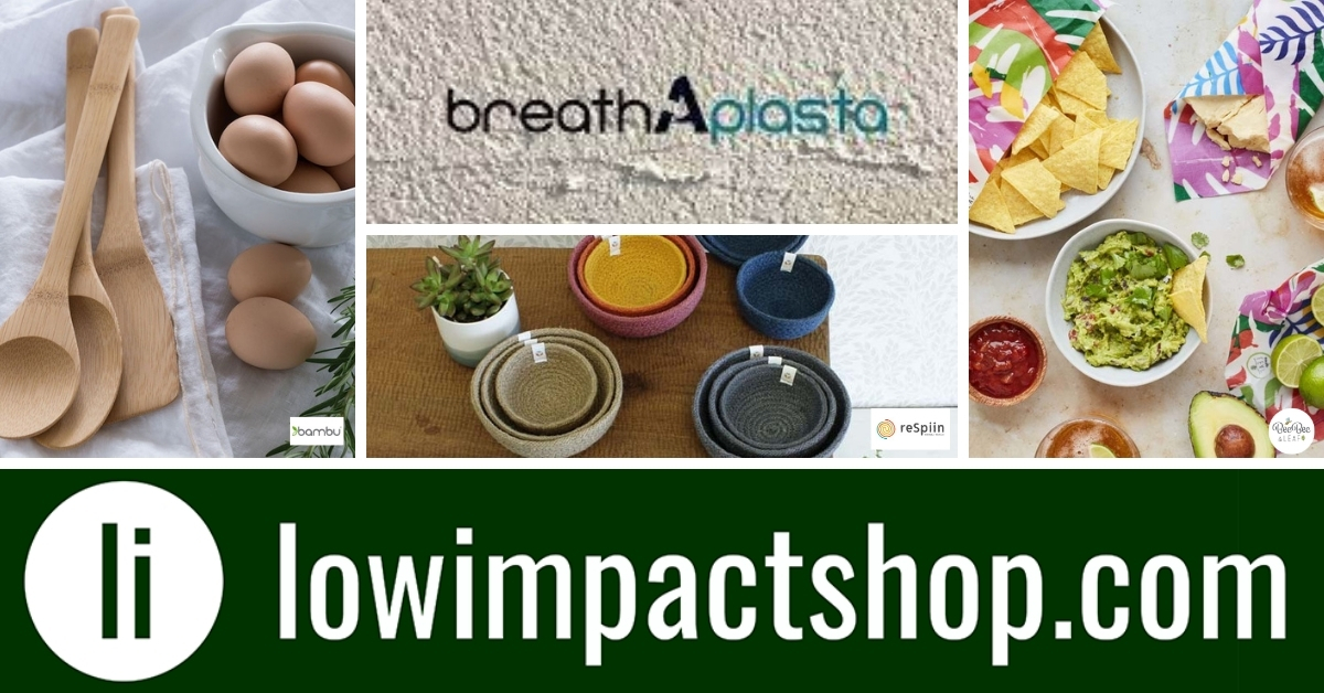 Sustainable products from LowImpactShop
