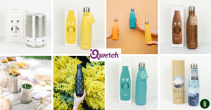 Qwetch double-walled stainless steel bottles and flasks