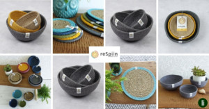 Sustainable jute and seagrass tableware from ReSpiin