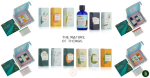 Responsibly-produced essential oil sets frorm The Nature of Things