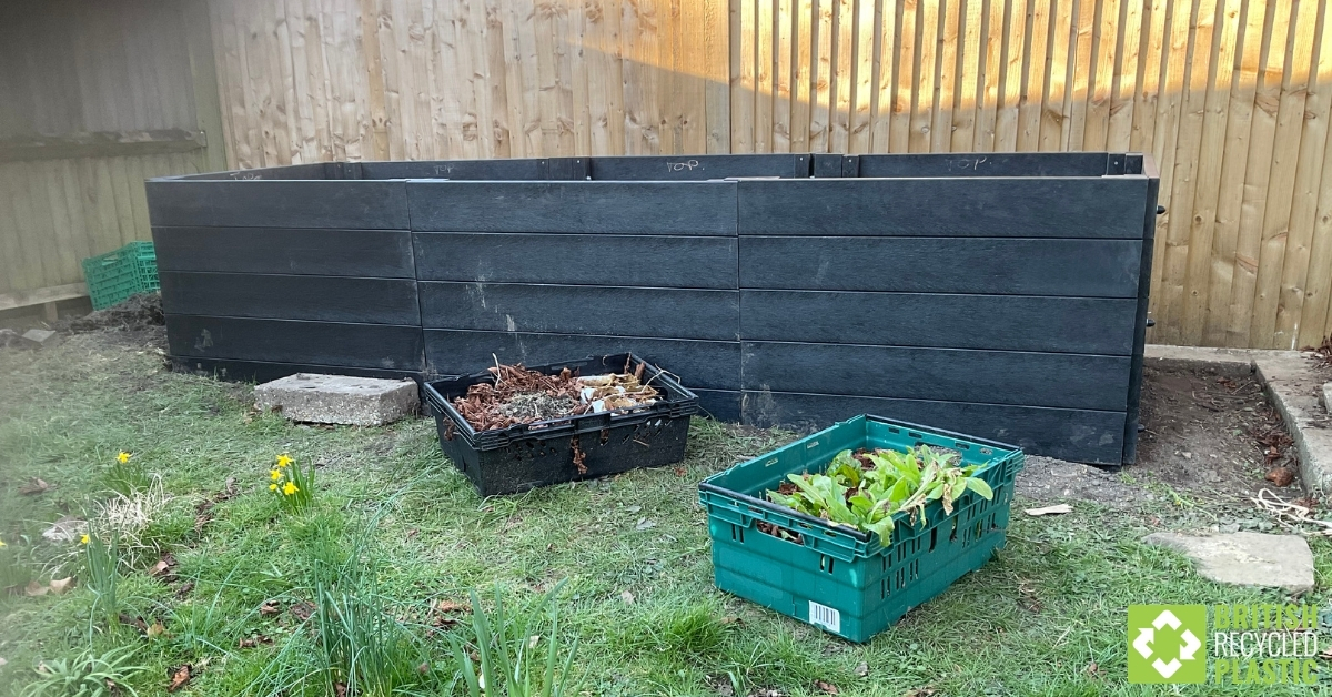 Raised bed build - the finished bed