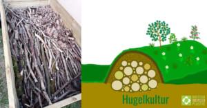 Hugelkultur explanatory slide
