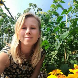 Our resident gardener, Martyna Krol