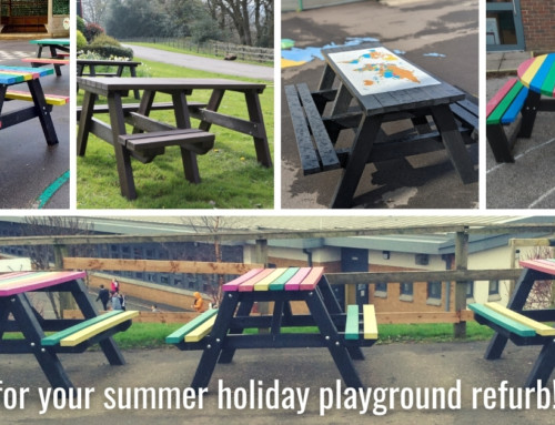 Summer holiday refurb for your playground