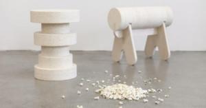 Bioplastic made from popcorn