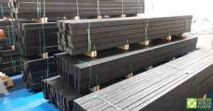British Recycled Plastic 100% recycled, solid plastic planks, posts and boards