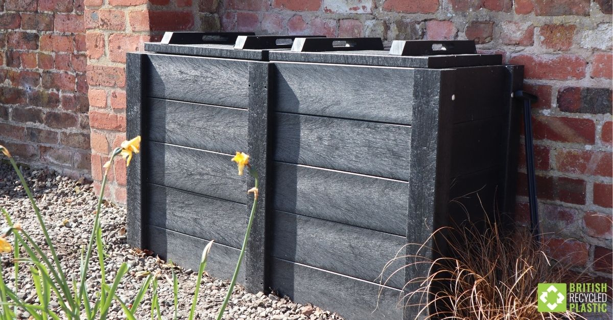 Micro-Callis 500mm composter engineered from British Recycled Plastic