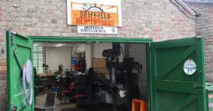 Workshop of Men In Sheds, Driffield
